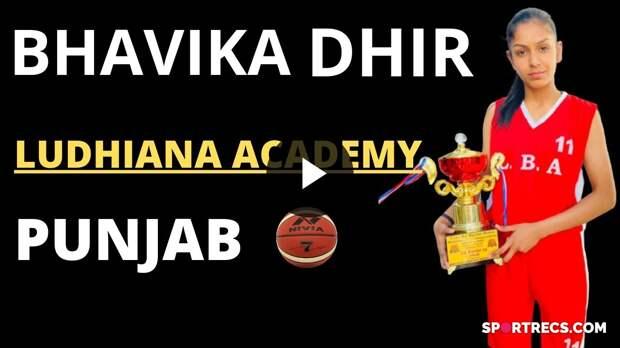 Bhavika Dhir Basketball player in INDIA
