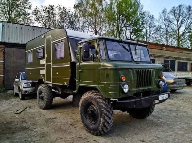 Кемпер своими руками из ГАЗ-66 за полмиллиона рублей газ, газ-66, грузовик, дом на колесах, кемпер, кунг, реставрация, своими руками