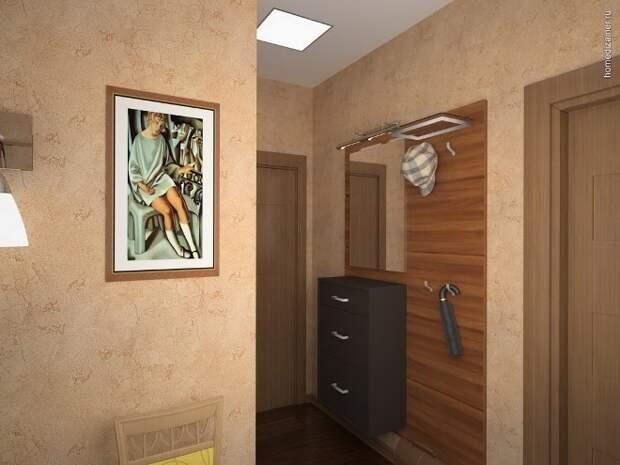 Оформление прихожей: тонкости выбора отделочных материалов и декора (61 фото)