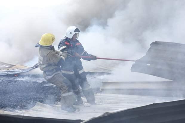 Гибель людей регистрируется на каждом 36-ом пожаре в Казахстане