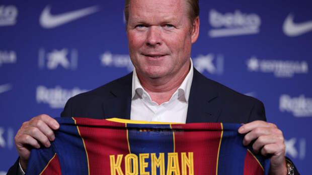 """Куман выразил надежду на то, что Месси останется в """"Барселоне"""""""