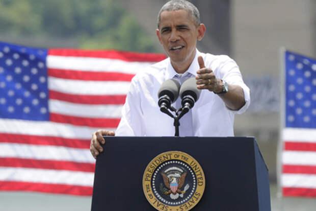 Обама призвал Путина оказать давление на ополченцев