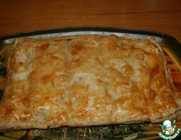 """Слоеный мальтийский пирог """"Пиджен пие"""" с курицей и картофелем!"""