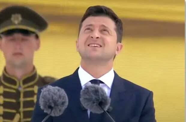 Парад в Киеве - сбежали с флагом: невероятное достижение украинских вояк, я ржал минут 10, ну до слез...