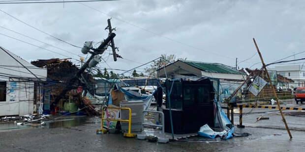 Число погибших на Филиппинах из-за тайфуна «Урсула» выросло до 47