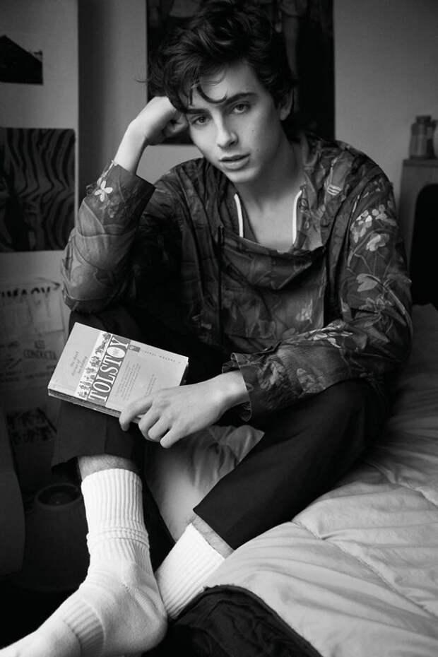 12 фактов о молодом актёре Тимоти Шаламе, который нравится всем девчонкам