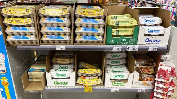 В 2021 средняя цена десятка яиц тоже перевалит за 100 рублей