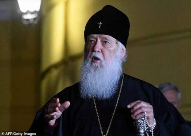 Патриарх Филарет, обвинявший в распространении коронавируса геев, сам заразился ковидом (5 фото)