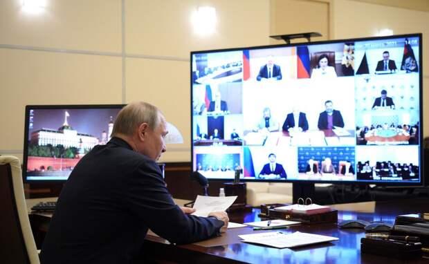 Путин: Россия недопустит переноса межэтнических конфликтов на свою землю