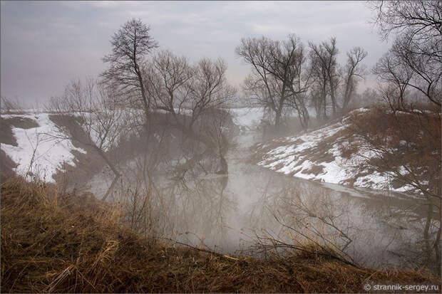Пеший путь реке. Разлив на Оке