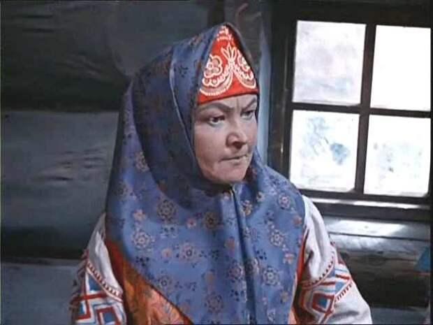 Мачеха. Морозко, 1965, Вера Алтайская. СССР, злодейка, кино
