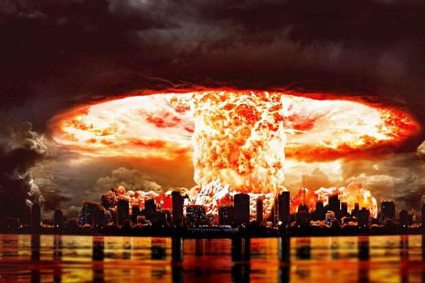 Какого размера будет взрыв, если собрать все ядерное оружие мира. Видео