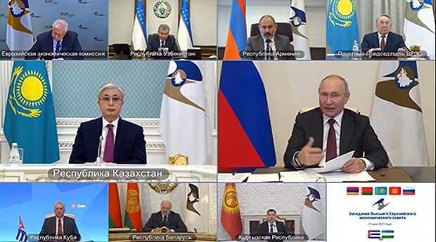 Путин предложил участникам ЕАЭС создать банк климатических данных