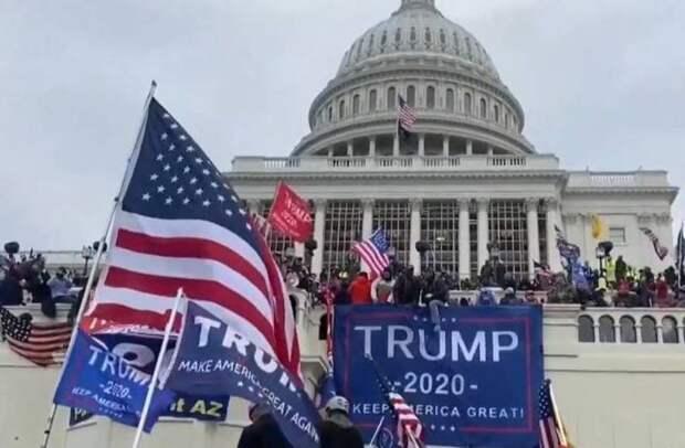 Штурм Конгресса – только начало: пресса США рассказала о возможном крахе государства