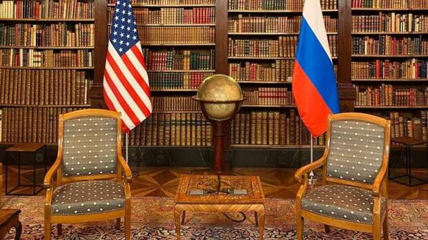 МИД РФ показал фото комнаты, где пройдут переговоры Путина и Байдена