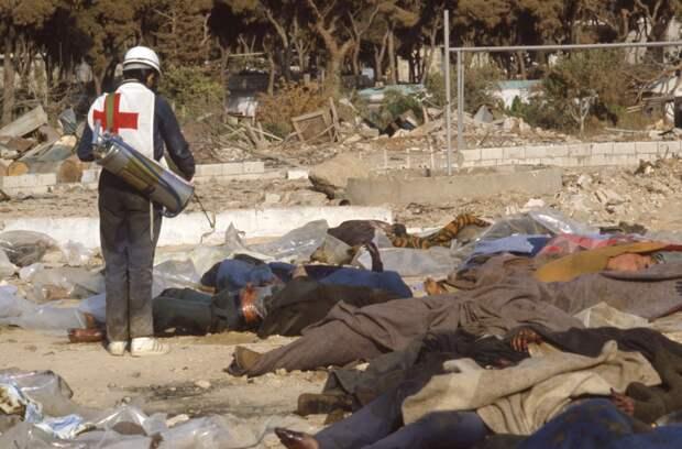 Исторические фотографии Гражданской войны в Ливане (1982-1984)