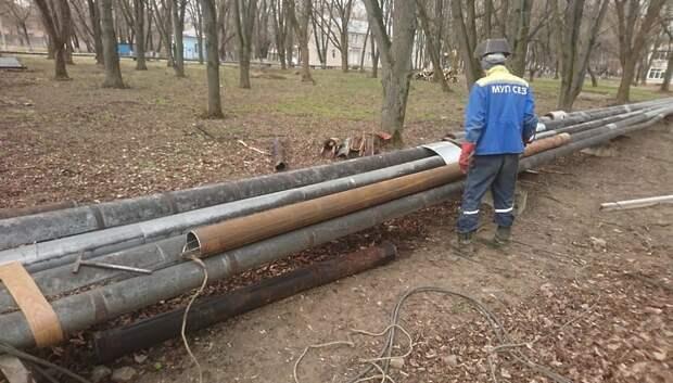 Трубы теплосети заменили в Климовской горбольнице №2 в Подольске