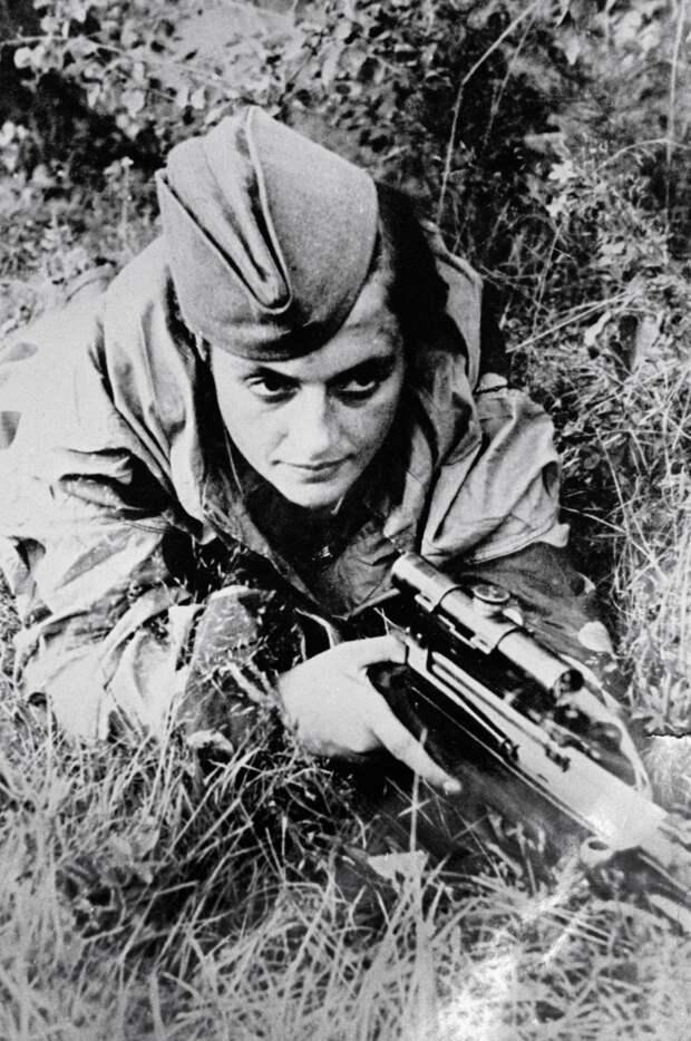 Людмила Павличенко о снайперах Великой Отечественной Войны