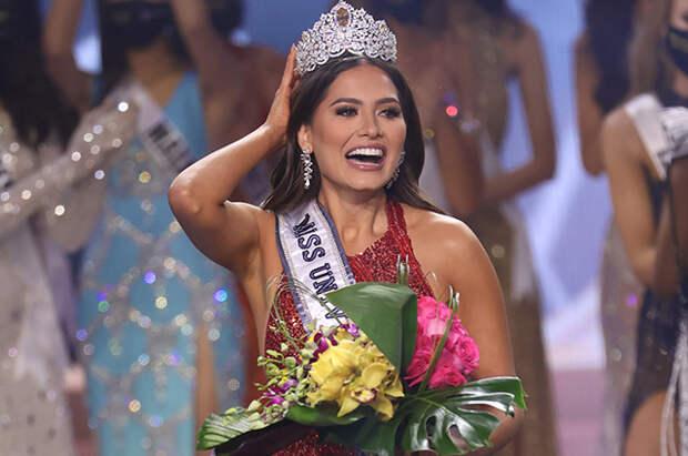 """Победительницей конкурса """"Мисс Вселенная — 2020"""" стала представительница Мексики Андреа Меза"""
