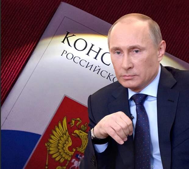 """Путиноид"" против очередного срока Путина"