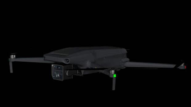 Дроны DJI Mavic 3 показали на качественных рендерах. Один получил сдвоенную камеру Hasselblad с семикратным зумом, второй записывает видео 8К