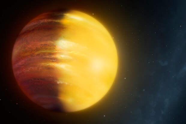 Экзопланета HAT-P-7 b (в представлении художника)