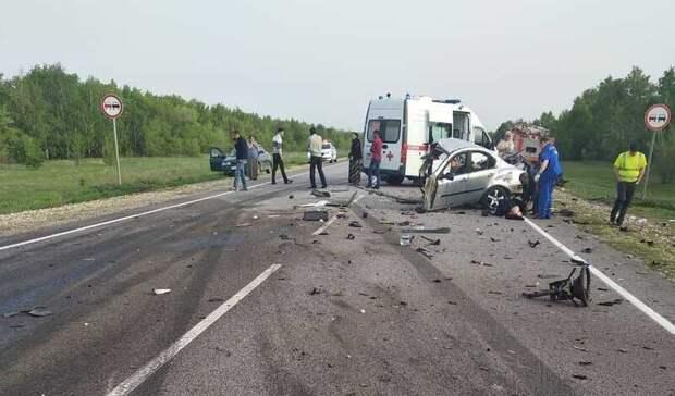 Два человека погибли при столкновении легковушки с грузовиком в Волгоградской области