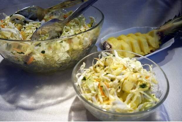Очень вкусные капустные салаты. Три оригинальных рецепта
