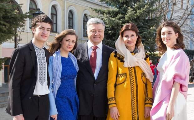 Супруга Порошенко призналась, почему их дети говорят на русском языке