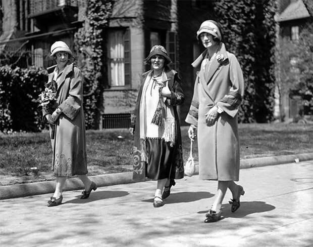 Вашингтон, 1925 год Стиль, винтаж, двадцатые, женщина, мода, прошлое, улица, фотография