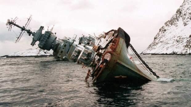 Самая знаменитая фотография крейсера «Мурманск».