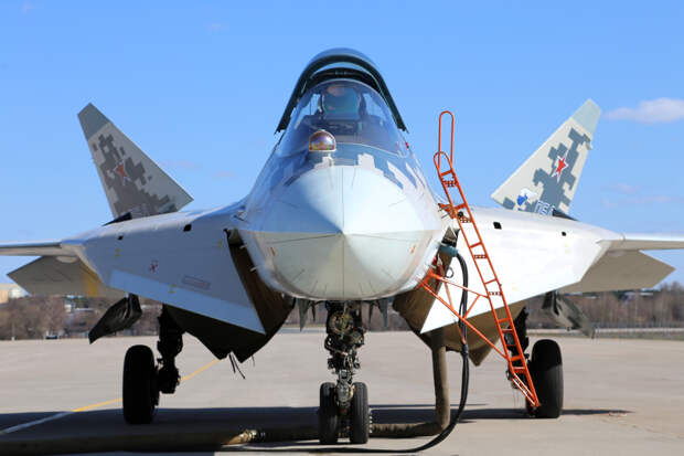 На модернизированном Су-57 планируют отказаться от гидравлических систем