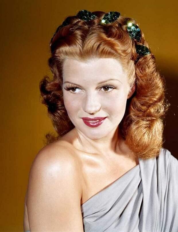 Рита Хейворт - голливудская актриса, популярная в 1940-х гг. | Фото: liveinternet.ru.