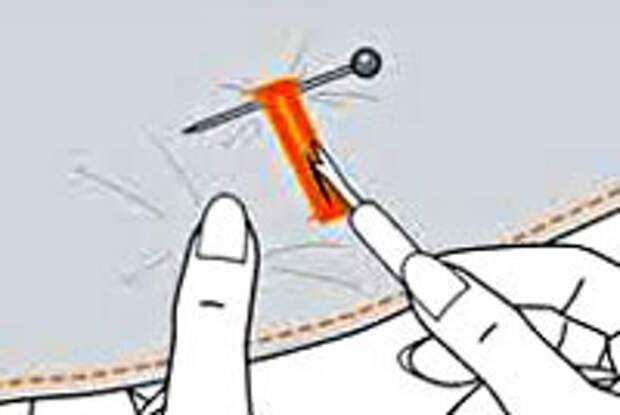 Как распарывать швы