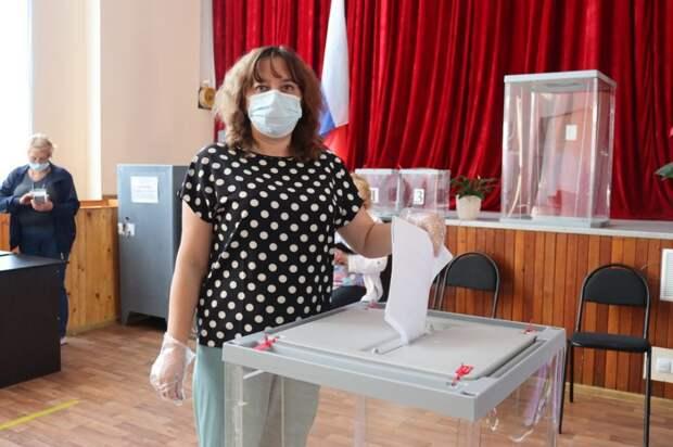 Первый день выборов в Кировском районе 17.09.2021