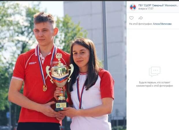 Спортсмены из Северного стали лучшими в эстафете на Первенстве России по  пятиборью