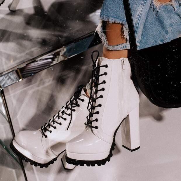 Зимние ботинки 2020 фото 5