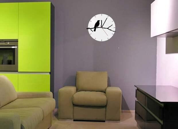 Часы в интерьере фото 24