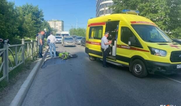 Подозреваемый враспространении наркотиков екатеринбуржец разбился намотоцикле