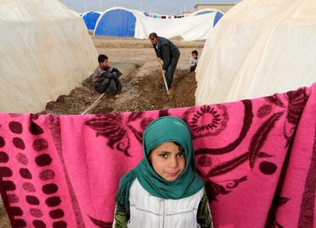 Иракская девочка