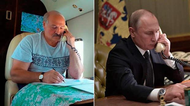 Уже не до хамства. Лукашенко звонит Путину и умоляет спасти