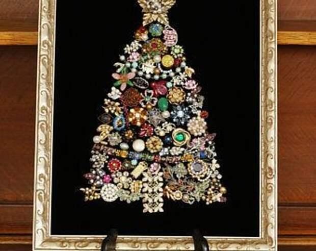 Драгоценные Ёлки для коллекционеров украшений