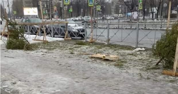 Невский район погряз в нелегальных торговых точках, а администрации плевать