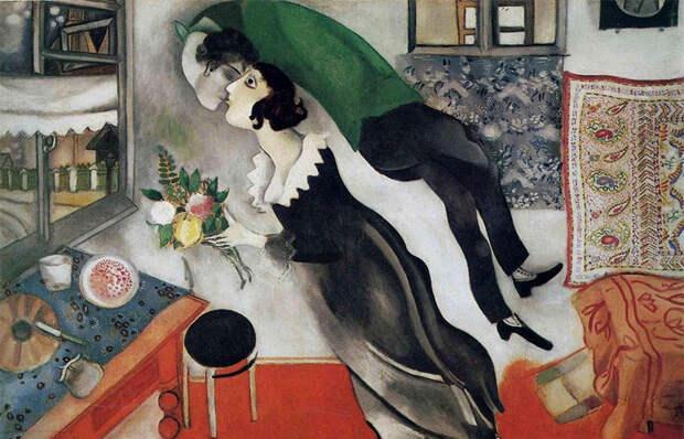 Как дочь питерского ювелира научила «летать» Марка Шагала: Прекрасная Белла Розенфельд