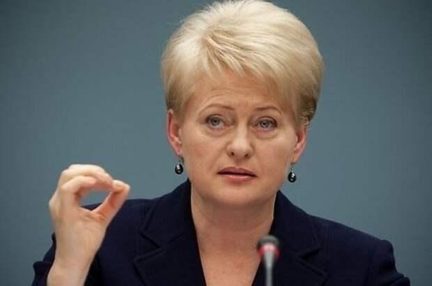 Грибаускайте: США не пожертвует Литвой ради союза с Россией - «государством-террористом»
