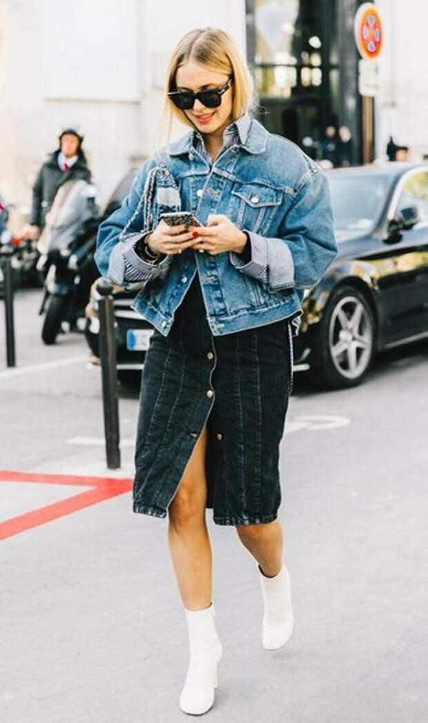Время утепляться. Модные джинсовки этого лета