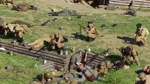 В Севастополе реконструировали два крупных сражения времен ВОВ