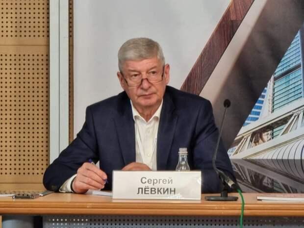 Левкин: Реновация позволяет создать в Москве городскую среду нового формата