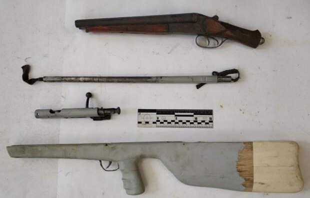 В Алуште полицейские установили местного жителя, подозреваемого в хранении и изготовлении оружия
