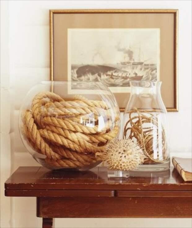 Даже такой простой штрих способен добавить интерьеру оригинальности и красоты. /Фото: whimsicalhomeandgarden.com